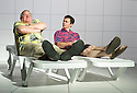 Love and Information by Caryl Churchill, directed by James MasDonald. Shrink with Paul Jesson, Justin Salinger.  Opens at The Royal Court Theatre Downstairs  on 14/9/12.CREDIT Geraint Lewis