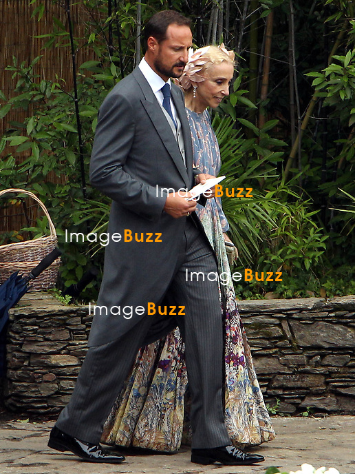 Arrival of the guests of the marriage of Pierre and B&eacute;atrice<br /> <br /> Prince Haakon de Norv&egrave;ge;Franca Sozzani