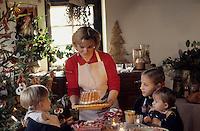 Europe/France/Alsace/68/Haut-Rhin/Ungersheim: Ecomusée d'Alsace - Noël alsacien en famille (AUTORISATION N°245-246-247-248)