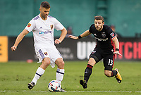 Washington,D.C. - Sunday, August 13, 2017: Real Salt Lake defeated D.C United 1-0 in an MLS match at RFK Stadium