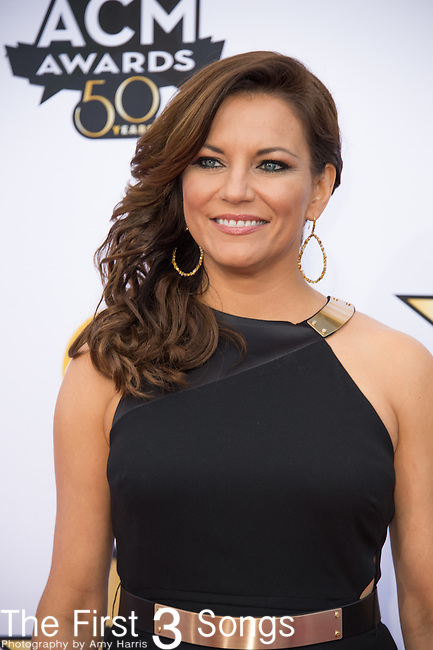 Martina McBride attends the 50th Academy Of Country Music Awards at AT&T Stadium on April 19, 2015 in Arlington, Texas.