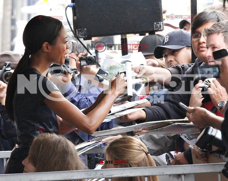8 NOVEMBRE 2012 - LOS ANGELES - ETATS-UNIS - NAOMIE HARRIES - JAVIER BARDEM RECOIT SON ETOILE SUR HOLLYWOOD BOULEVARD (KDENA/NortePhoto)