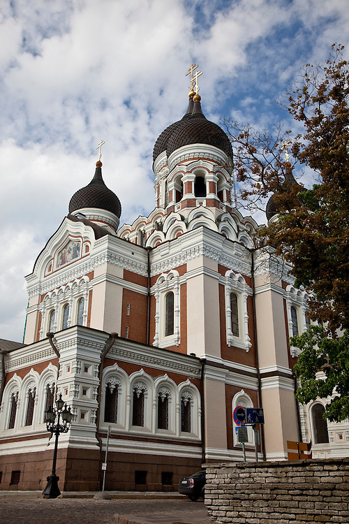 Alexander Nevsky Cathedral-Tallinn, Estonia, built in 1900