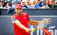 Den Bosch, Netherlands, 11 June, 2018, Tennis, Libema Open, Ivo Karlovic (CRO)<br /> Photo: Henk Koster/tennisimages.com