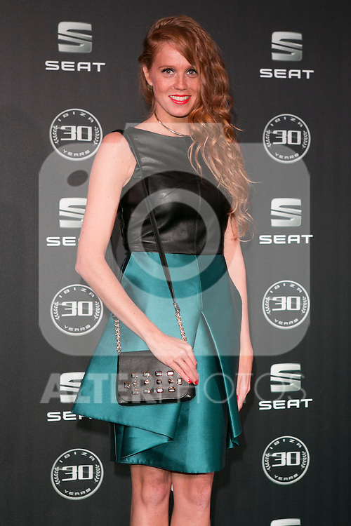 Maria Castro attends the 30th Anniversary Party Of Seat IBIZA Car at COAM in Madrid, Spain. November 6, 2014. (ALTERPHOTOS/Carlos Dafonte)