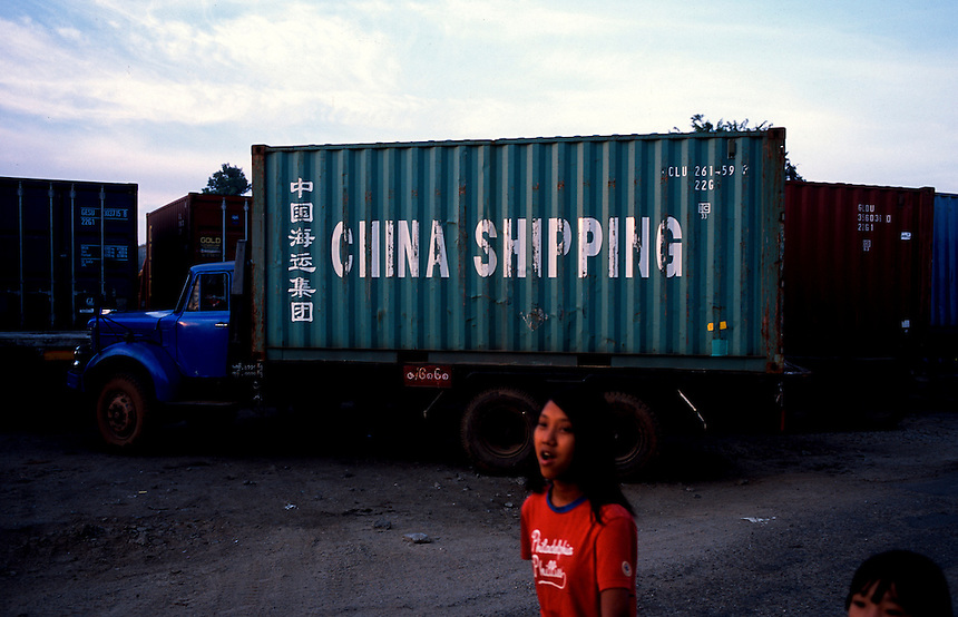 Cargo Terminal, Yangon, Burma/Myanmar, November 2010. Photo: Ed Giles.