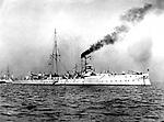 German Cruiser Hela .<br /> 1901