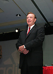 Retired Indiana University men's soccer coach Jerry Yeagley on Saturday, January 21st, 2006, during the National Soccer Coaches Association of America's annual convention in the Grand Ballroom of the Pennsylvania Convention Center in Philadelphia, PA.