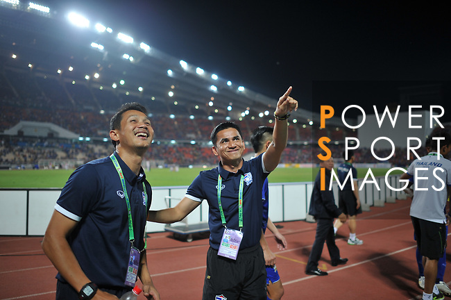 Thailand vs Philippines during their AFF Suzuki Cup 2014 Semi-Finals - 2nd leg match at Rajamangala Stadium on 10 December 2014, in Bangkok, Thailand. Photo by Stringer / Lagardere Sports