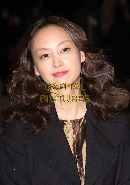 LEE NA YOUNG.Attending the Burberry Closing Party for London Fashion Week held at Chelsea College for Art & Design, London, England, UK, .September 22nd 2009..portrait headshot black .CAP/AH.©Adam Houghton/Capital Pictures.