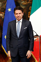 Giuseppe Conte<br /> Rome November 26th 2019. Bilateral meeting between the Italian Prime Minister and the Prime Minister of Greece.<br /> Foto Samantha Zucchi Insidefoto