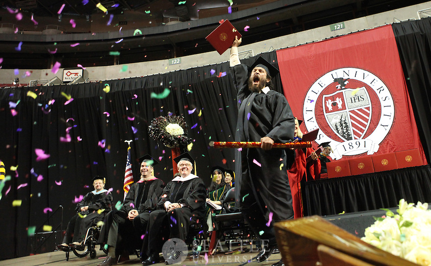 06132010- Graduation, undergraduate, Seattle University,