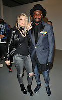 Fergie Duhamel &amp; Will.i.am at the Gareth Pugh LFW s/s 2017 catwalk show, BFC Show Space, Brewer Street Car Park, Brewer Street, London, England, UK, on Saturday 17 September 2016.<br /> CAP/CAN<br /> &copy;CAN/Capital Pictures /MediaPunch ***NORTH AND SOUTH AMERICAS ONLY***