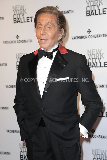 WWW.ACEPIXS.COM<br /> May 8, 2014 New York City<br /> <br /> Valentino Garavani attends the New York City Ballet 2014 Spring Gala at David H. Koch Theater, Lincoln Center on May 8, 2014 in New York City.<br /> <br /> Please byline: Kristin Callahan<br /> <br /> ACEPIXS.COM<br /> <br /> Tel: (212) 243 8787 or (646) 769 0430<br /> e-mail: info@acepixs.com<br /> web: http://www.acepixs.com