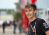 George Russell during The Formula 1 2018 Rolex British Grand Prix at Silverstone Circuit, Northampton, England on 8 July 2018. Photo by Vince  Mignott.