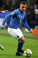 Marco Verratti in action during the Nations League League A group 3 football match between Italy and Portugal at stadio Giuseppe Meazza, Milano, November, 17, 2018 <br /> Foto Andrea Staccioli / Insidefoto