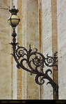 Ornate Lantern exterior of St Peter's Basilica Rome