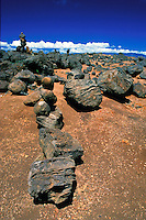 Rock formations at Garden of the Gods, north shore of Lanai