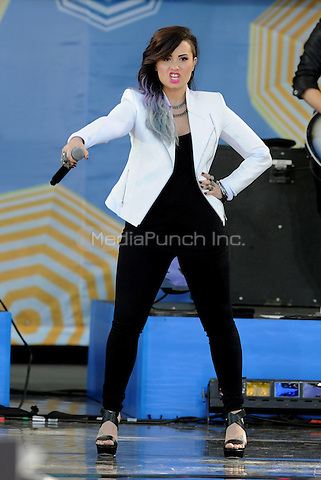 New York, NY- June 6:  Demi Lovato performs in Central Park at Rumsey Playfield as part of the GMA 2014 Summer Concert Series  on June 6, 2014 in New York City. © Credit: John Palmer/MediaPunch.