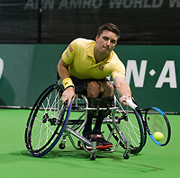Rotterdam, The Netherlands, 14 Februari 2019, ABNAMRO World Tennis Tournament, Ahoy, Gordon Reid (GBR),<br /> Photo: www.tennisimages.com/Henk Koster