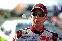 Oct. 9, 2009; Fontana, CA, USA; NASCAR Sprint Cup Series driver Greg Biffle during qualifying for the Pepsi 500 at Auto Club Speedway. Mandatory Credit: Mark J. Rebilas-