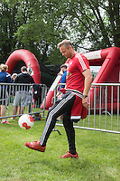 Pictured: Lee Trundle Monday 20 July 2015<br /> Re: Swansea City FC event at the Royal Welsh Show in Builth, Wells, mid Wales.