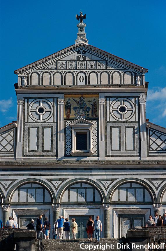 San Miniato al Monte, Florenz, Toskana, Italien, Unesco-Weltkulturerbe