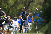 Sean Crocker (USA) walking to the 5th during the Matchplay rounds of the ISPS Handa World Super 6 Perth at Lake Karrinyup Country Club on the Sunday 11th February 2018.<br /> Picture:  Thos Caffrey / www.golffile.ie<br /> <br /> All photo usage must carry mandatory copyright credit (&copy; Golffile | Thos Caffrey)