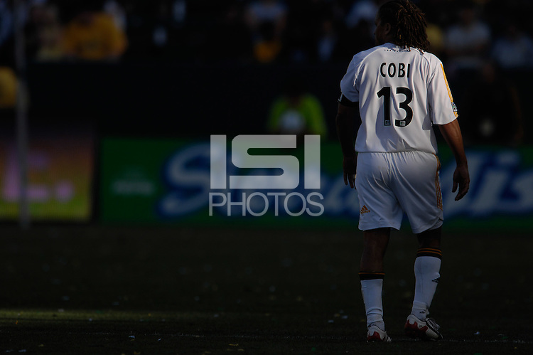 Cobi Jones in the fading sunlight. The Los Angeles Galaxy defeated Real Salt Lake, 3-2, at the Home Depot Center in Carson, CA on Sunday, June 17, 2007.