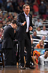 GLENDALE, AZ - APRIL 03: Head coach Mark Few of the Gonzaga Bulldogs reacts to gameplay during the 2017 NCAA Men's Final Four National Championship game against the North Carolina Tar Heels at University of Phoenix Stadium on April 3, 2017 in Glendale, Arizona.  (Photo by Jamie Schwaberow/NCAA Photos via Getty Images)
