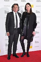 LONDON, UK. November 22, 2016: Leon &amp; Yana Max at The Design Museum VIP launch party in Kensington, London.<br /> Picture: Steve Vas/Featureflash/SilverHub 0208 004 5359/ 07711 972644 Editors@silverhubmedia.com