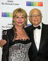 Norman Lear and his wife, Lyn, arrive for the formal Artist's Dinner honoring the recipients of the 40th Annual Kennedy Center Honors hosted by United States Secretary of State Rex Tillerson at the US Department of State in Washington, D.C. on Saturday, December 2, 2017. The 2017 honorees are: American dancer and choreographer Carmen de Lavallade; Cuban American singer-songwriter and actress Gloria Estefan; American hip hop artist and entertainment icon LL COOL J; American television writer and producer Norman Lear; and American musician and record producer Lionel Richie. Photo Credit: Ron Sachs/CNP/AdMedia