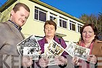 IN THE PICTURE: Staff at Abbeyfeale Vocation School who are organising an exhibition of old photographs and memorabilia to mark the 60th year of the school ahead of its closure next summer, l-r: Shane MacCurta?in, Carina Prendiville, Della Reidy Fitzgerald.