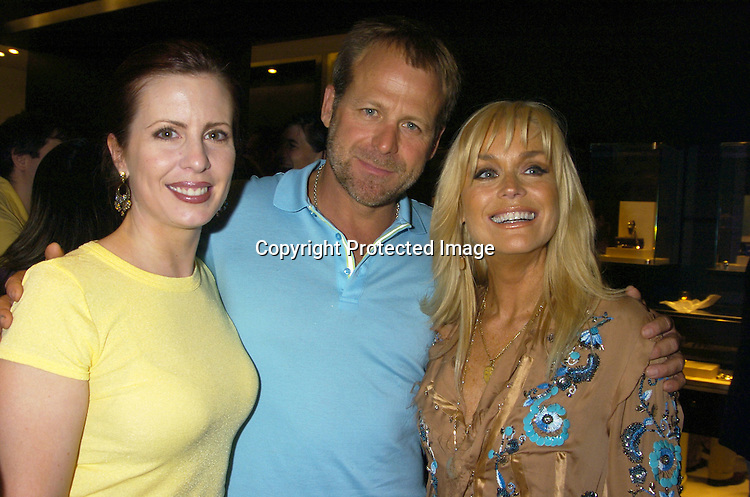"Martha Byrne, Kin Shriner and Catherine Hickland ..at the Book Party for Finola Hughes' Book ""Soapsuds"" ..at The Montblanc Global Flagship Store on June 14, 2005. ..Photo by Robin Platzer, Twin Images"
