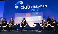 SAO PAULO, SP - 06.06.2017 - CIAB-FEBRABAN - O Governador Geraldo Alckmin durante Ciab Febraban 2017 na manhã desta terça-feira (6) no Expo Transamérica, zona sul de São Paulo.<br /> (Foto: Fabricio Bomjardim / Brazil Photo Press)
