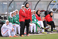 Monfalcone, Italy, April 26, 2016.<br /> Iran's head coach Mahini during USA v Iran football match at Gradisca Tournament of Nations (women's tournament). Monfalcone's stadium.<br /> &copy; ph Simone Ferraro / Isiphotos