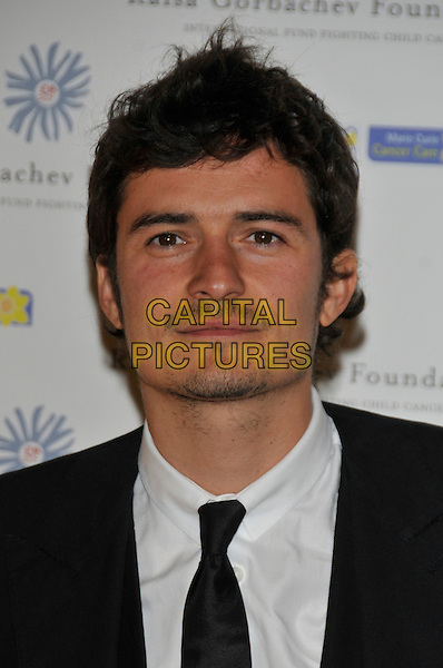 ORLANDO BLOOM.At the Russia Midsummer Fantasy, in aid of the Raisa Gobachev Foundation, Stud House, Home Park, Hampton Court, England, UK, 7th June 2008. .arrivals portrait headshot black tie.CAP/PL.©Phil Loftus/Capital Pictures
