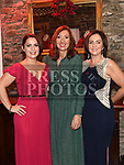 Joanne Doyle, Emma Devlin and Isabelle Corrigan at the Heart Children Ireland Gala Ball in Darver Castle. Photo:Colin Bell/pressphotos.ie