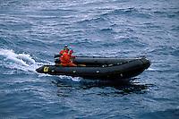 Zodiac boat, Antarctica