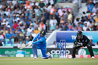 Yuzvendra Chahal (India) plays a slog sweep during India vs New Zealand, ICC World Cup Warm-Up Match Cricket at the Kia Oval on 25th May 2019