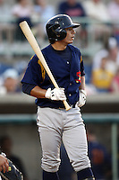 June 24, 2009:  Jose Hernandez of the State College Spikes during a game at Eastwood Field in Niles, OH.  The Spikes are the NY-Penn League Short-Season A affiliate of the Pittsburgh Pirates.  Photo by:  Mike Janes/Four Seam Images