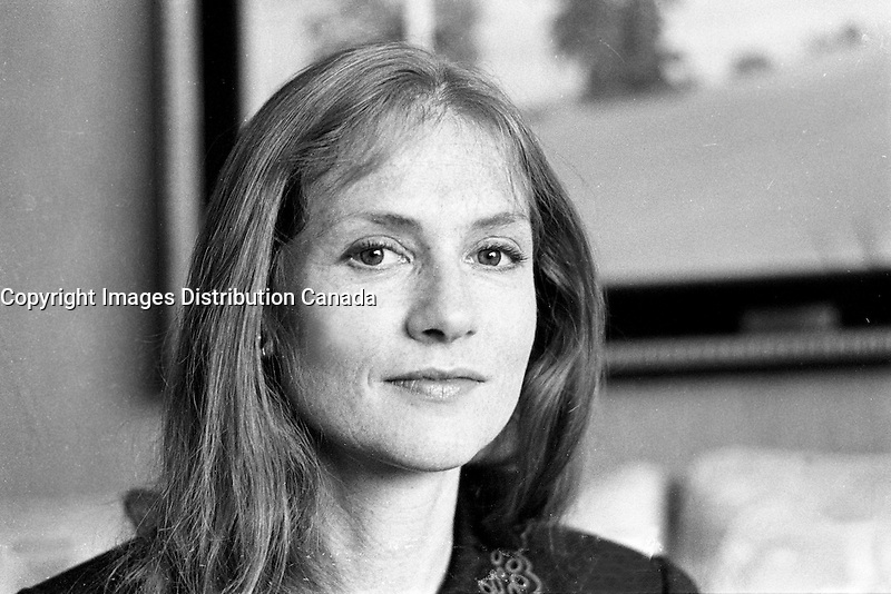 Montreal, Canada 19888 file Photo - Isabelle Huppert