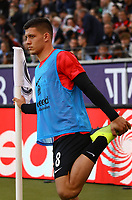 Luka Jovic (Eintracht Frankfurt) - 30.09.2018: Eintracht Frankfurt vs. Hannover 96, Commerzbank Arena, DISCLAIMER: DFL regulations prohibit any use of photographs as image sequences and/or quasi-video.