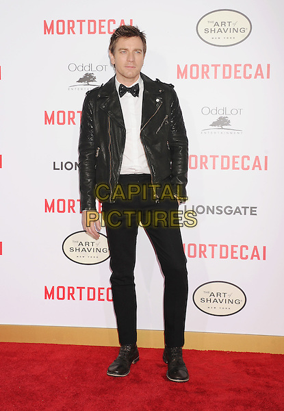 HOLLYWOOD, CA - JANUARY 21: Actor Ewan McGregor arrives at The Los Angeles Premiere Of 'Mortdecai' at TCL Chinese Theatre on January 21, 2015 in Hollywood, California.<br /> CAP/ROT/TM<br /> &copy;TM/Roth Stock/Capital Pictures