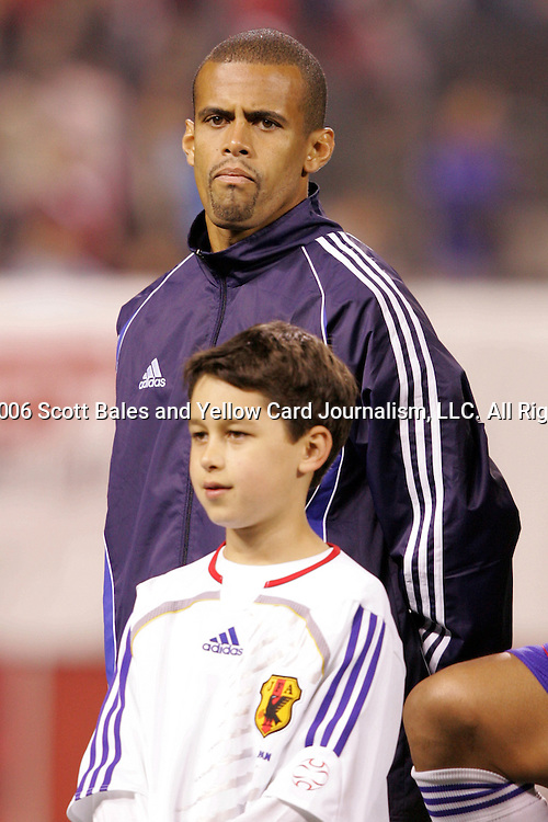 10 February 2006: Japan's Alessandro Santos. The United States Men's National Team defeated Japan 3-2 at SBC Park in San Francisco, California in an International Friendly soccer match.