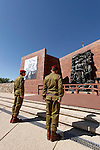 Israel, Jerusalem, Holocaust Memorial Day at Yad Vashem, 2005<br />