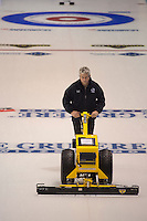 Glasgow. SCOTLAND.  &quot;Round Robin&quot; Game. Le Gruy&egrave;re European Curling Championships. 2016 Venue, Braehead  Scotland<br /> Monday  21/11/2016<br /> <br /> [Mandatory Credit; Peter Spurrier/Intersport-images]