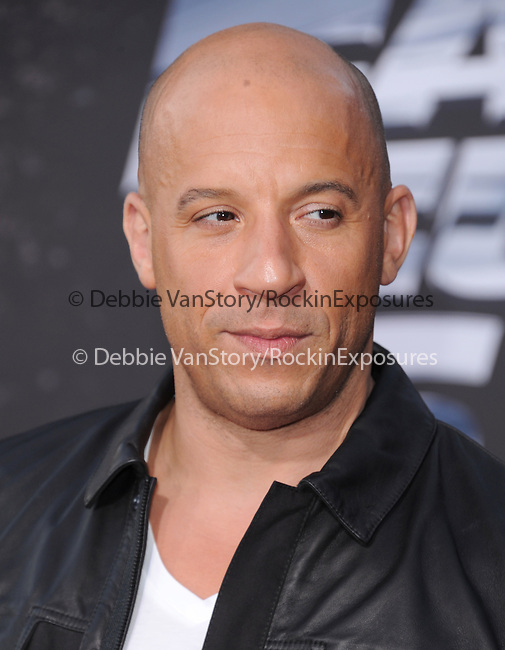 Vin Diesel at The Universal Pictures American Premiere of Fast & Furious 6 held at Universal CityWalk in Universal City, California on May 21,2013                                                                   Copyright 2013 Hollywood Press Agency