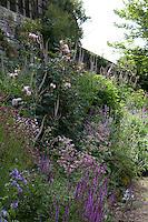 Summer border at Haddon Hall