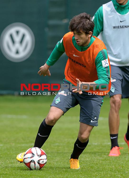 07.05.2015, Trainingsgelaende, Bremen, GER, 1.FBL, Training Werder Bremen, im Bild Julian von Haacke (Bremen #26)<br /> <br /> Foto &copy; nordphoto / Frisch